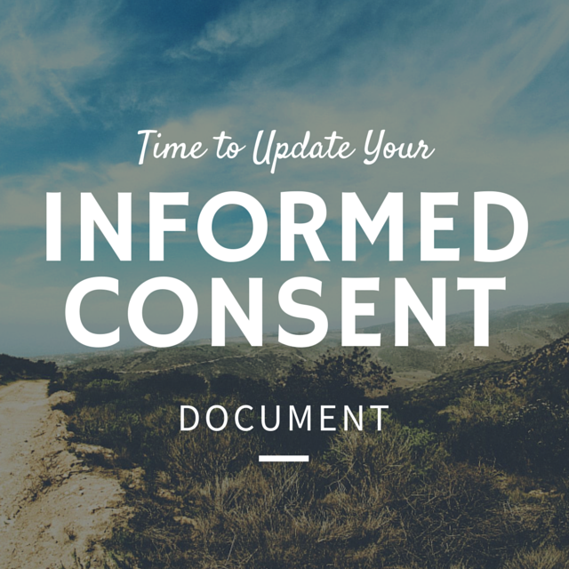 Updating Informed Consent