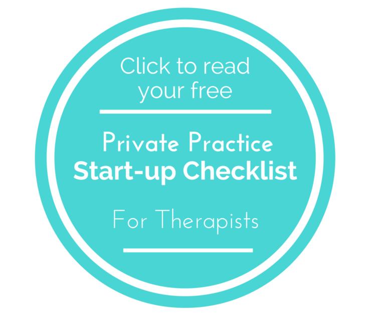 Private Practice Startup Checklist