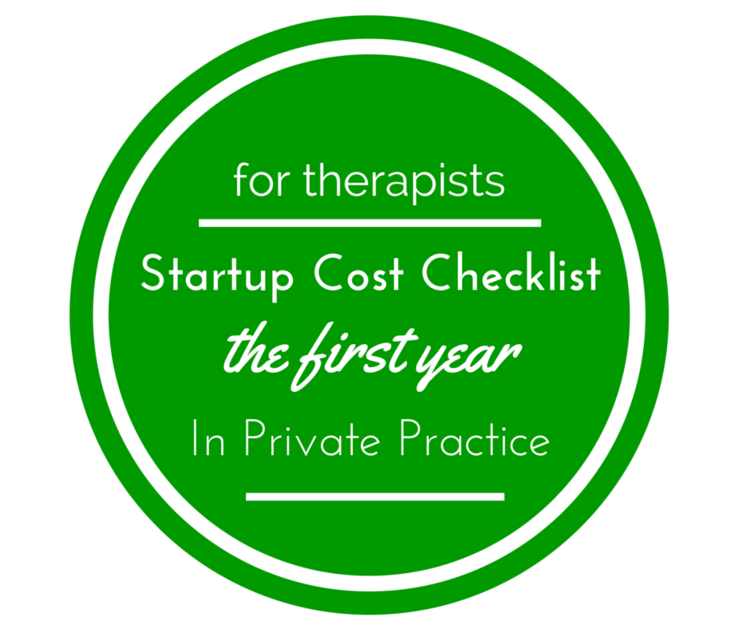 Checklist: Costs for Starting a Counseling Practice