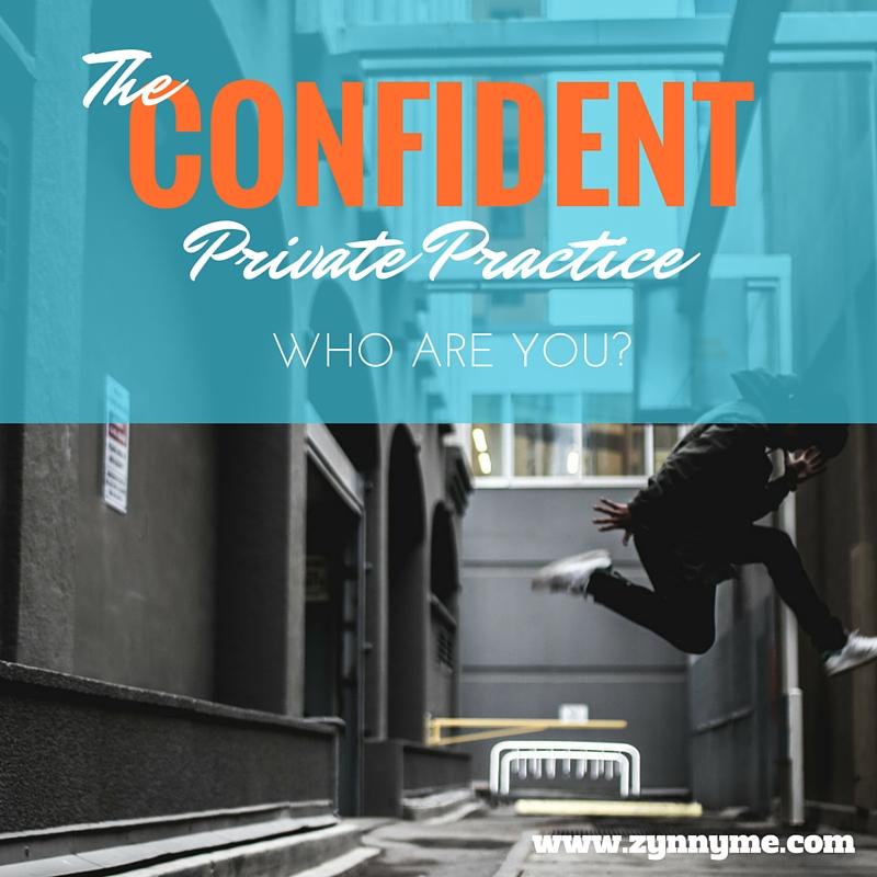 Private practice confidence 1