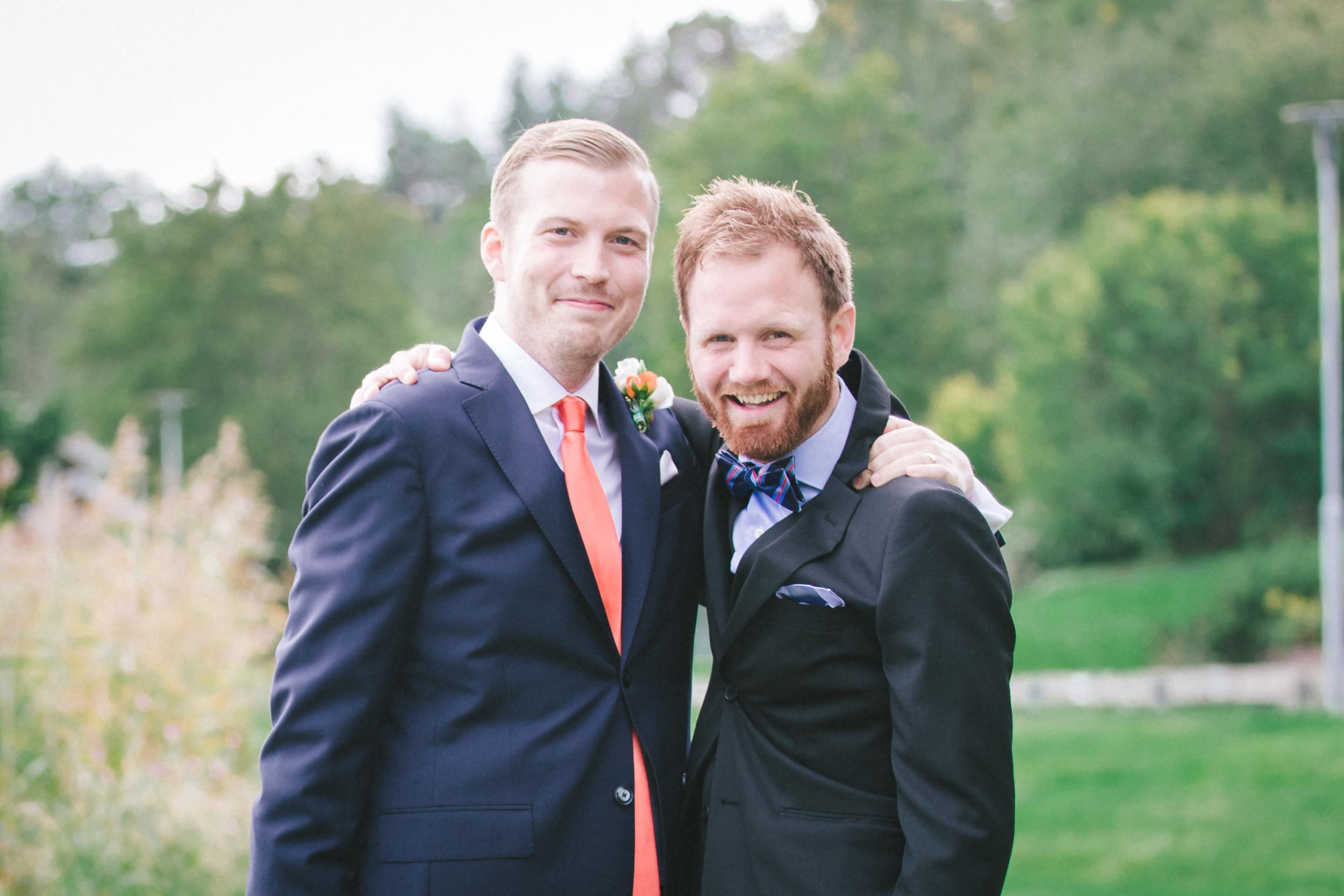 Bröllopsfotograf i Stockholm brudgum