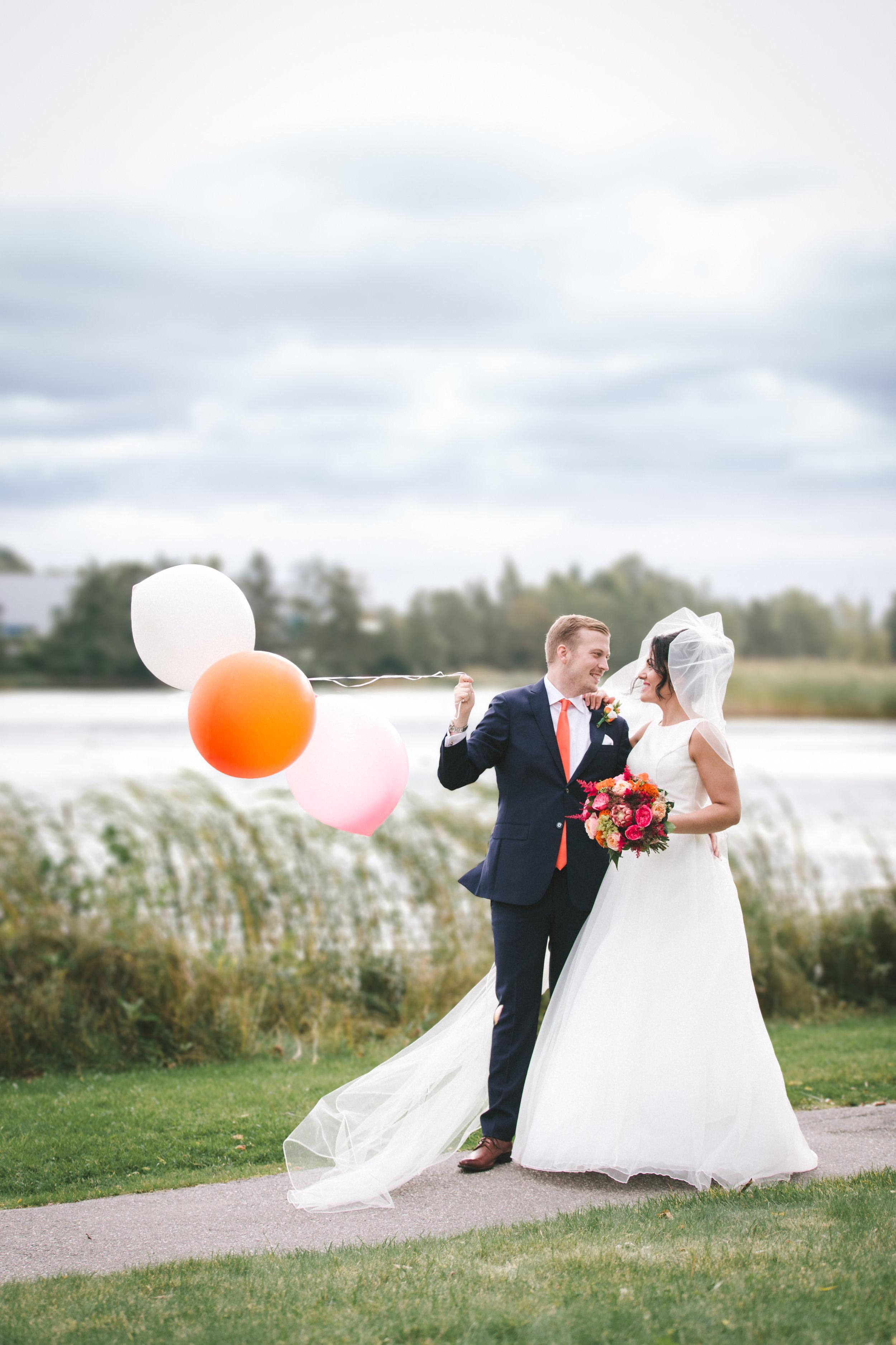 Bröllopsfotograf i Stockholm par