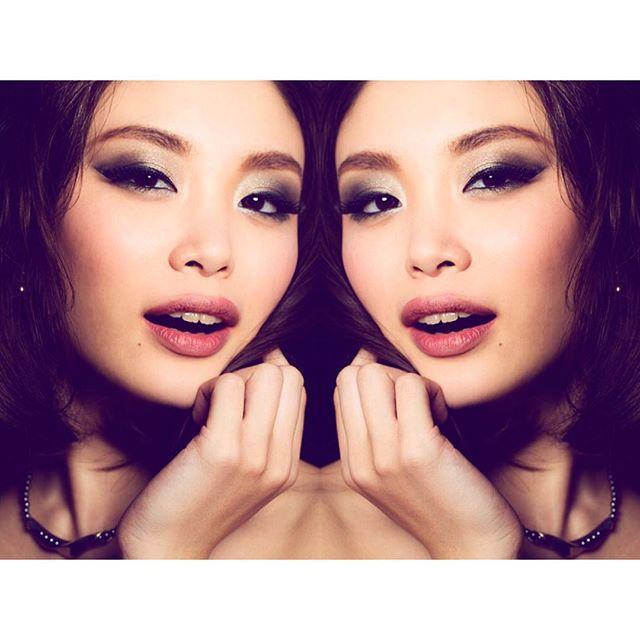 Beautiful @enomoto_yuki  青春時代読んでた雑誌の専属モデルさんで、憧れの人にヘアメイクできた日は感無量でした(^ ^)❤️ #mua #makeup #makeupartist #photoshoot #beauty #beautyshoot #smokeyes #smokeyeye #ヘアメイク #メイクアップ #メイクアップアーティスト #ビューティー #スモーキーアイ