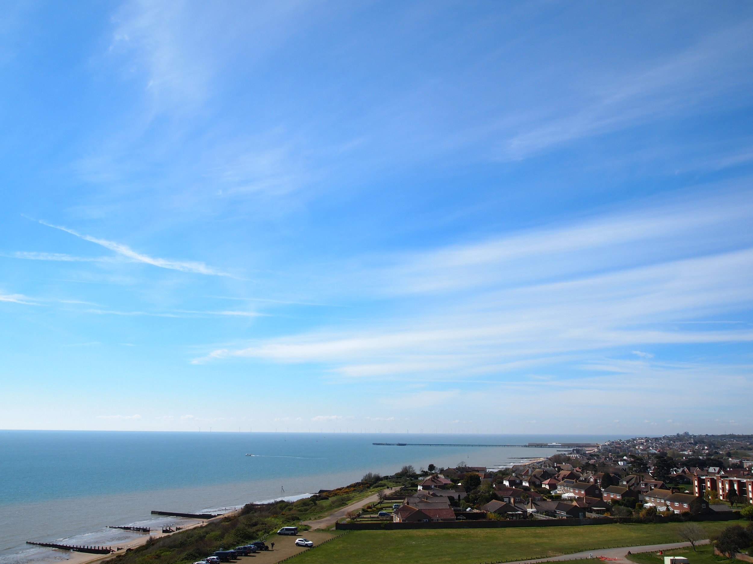 View from the Naze Tower