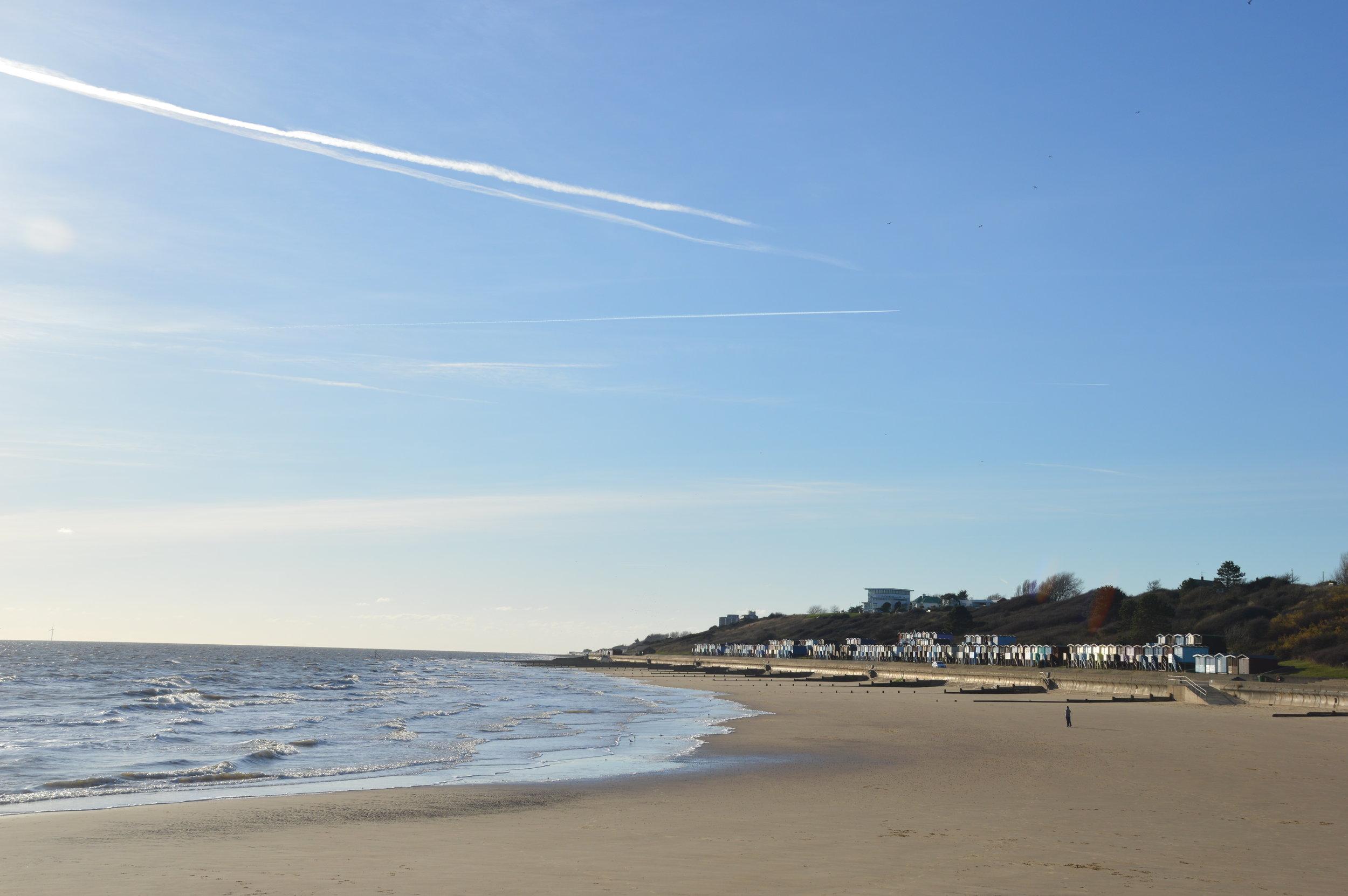 Frinton from Walton beach