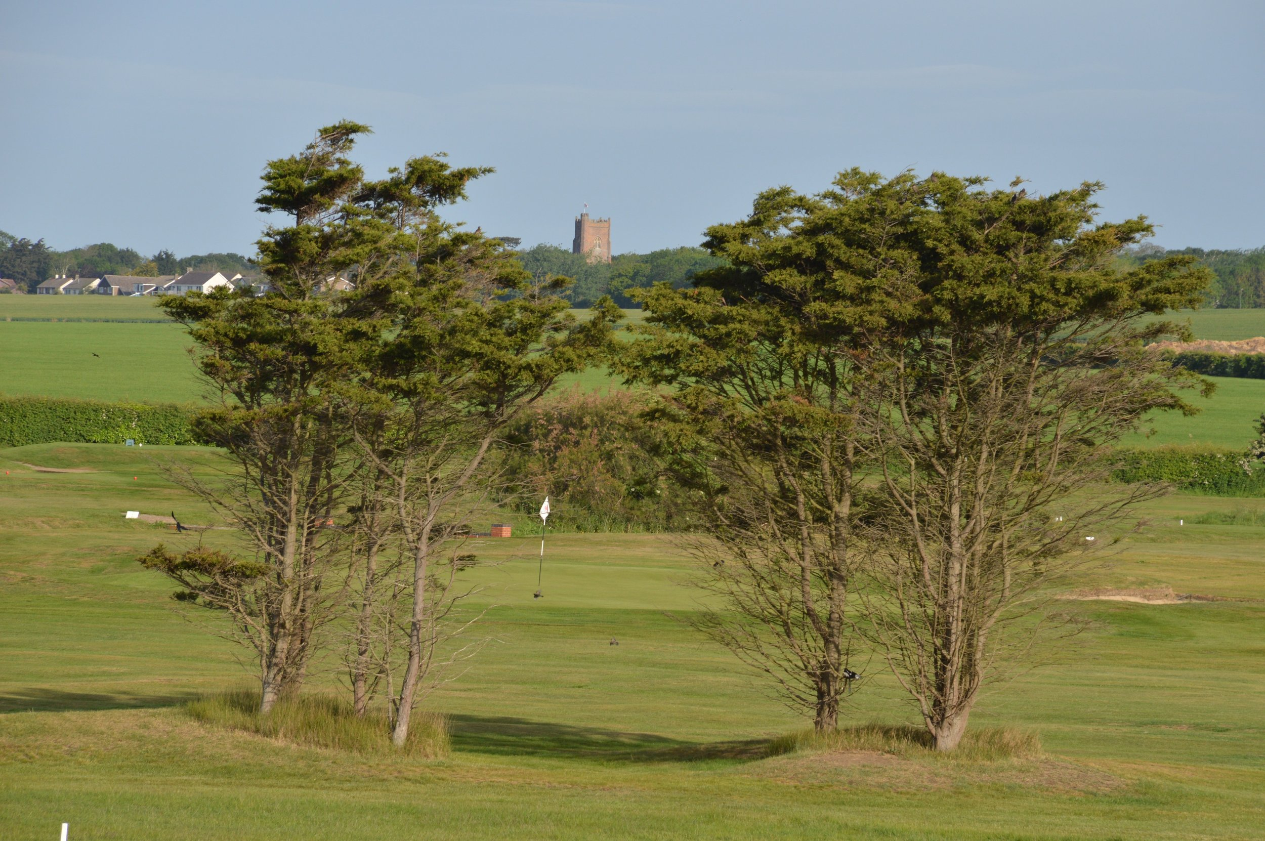 View across the Golf Club