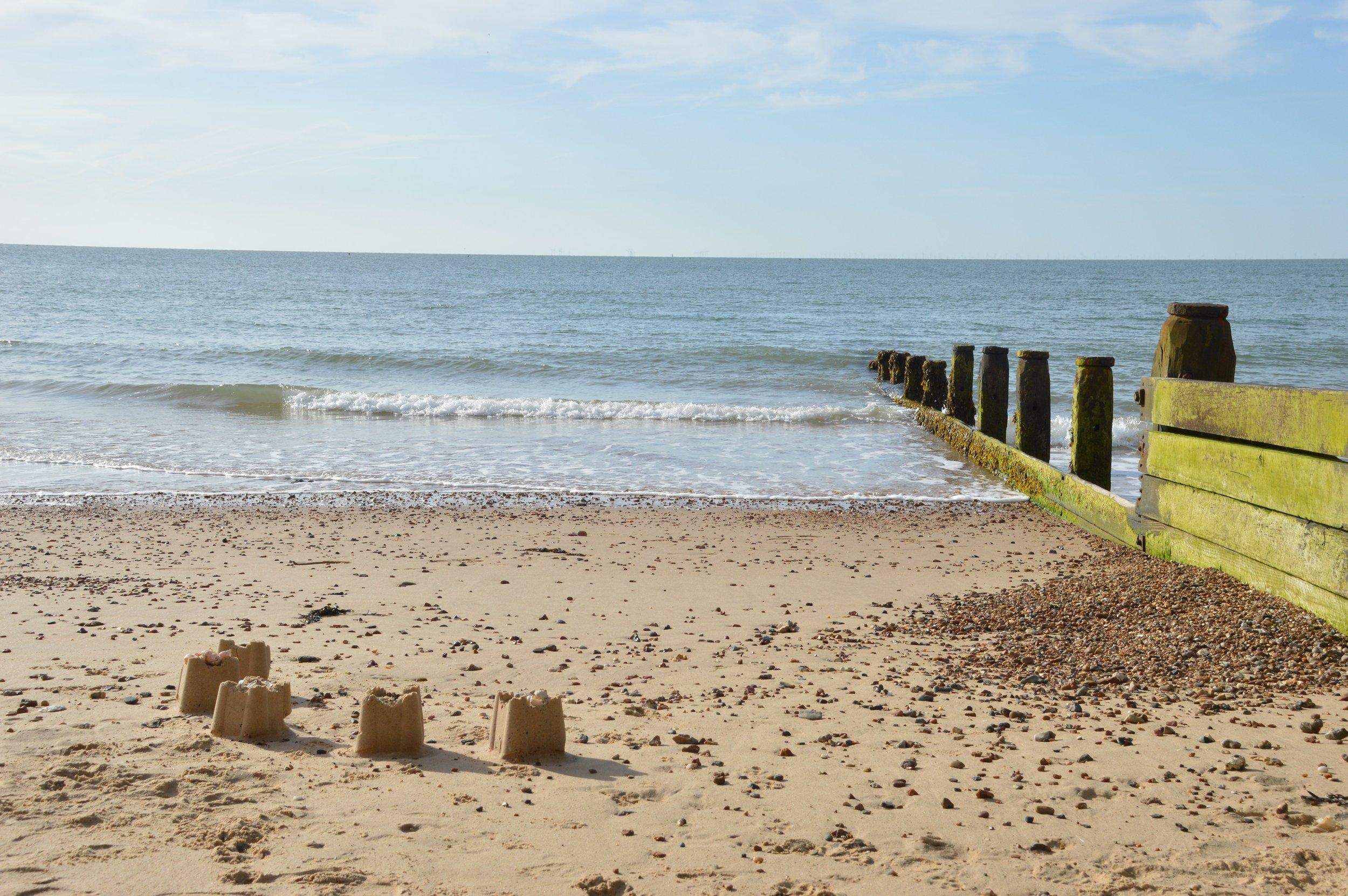 Frinton's glorious sandy beach