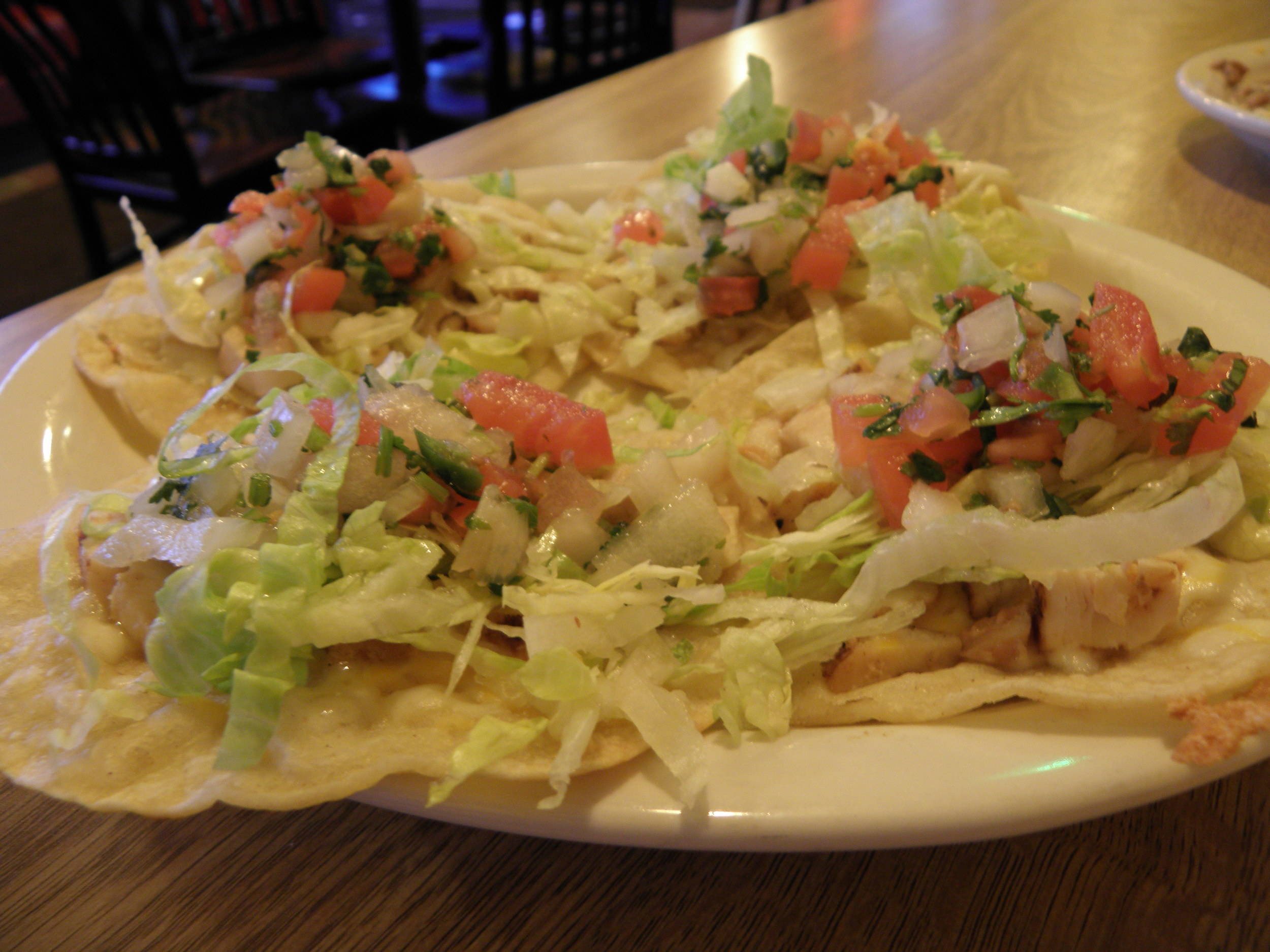 A plate full of our Tex Mex tacos