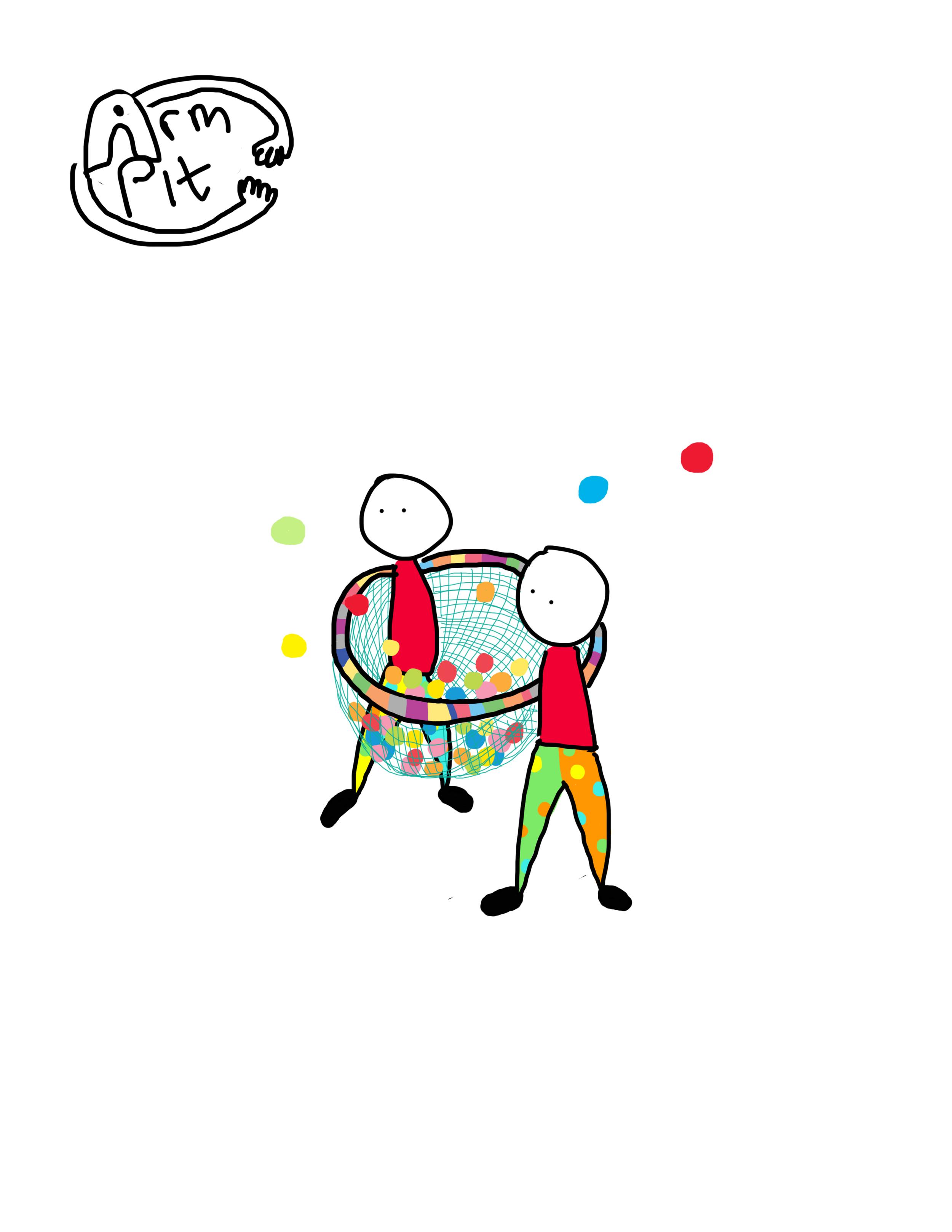 ArmPit: Tinsel + Tassel (Sketch)