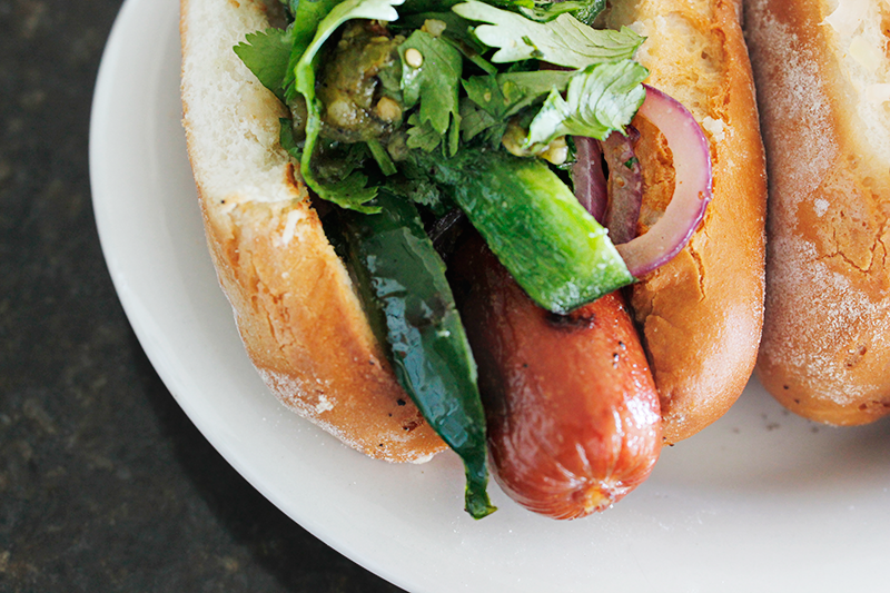 ^^^ For lunch we made these delicious organic hotdogs with peppers and onions and gluten free buns. I was in heaven.