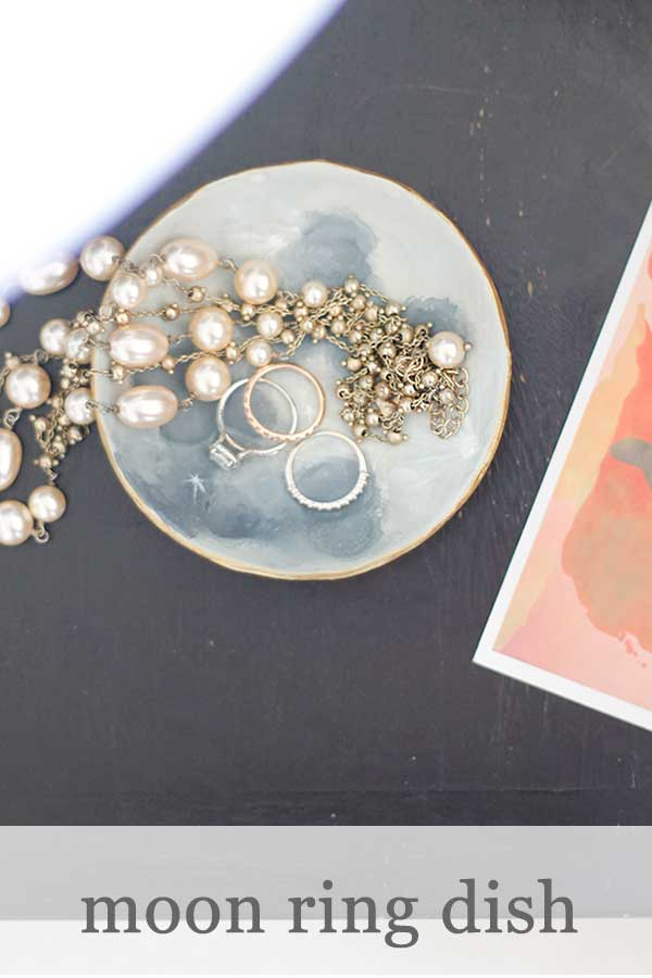 DIY Moon Ring Dish