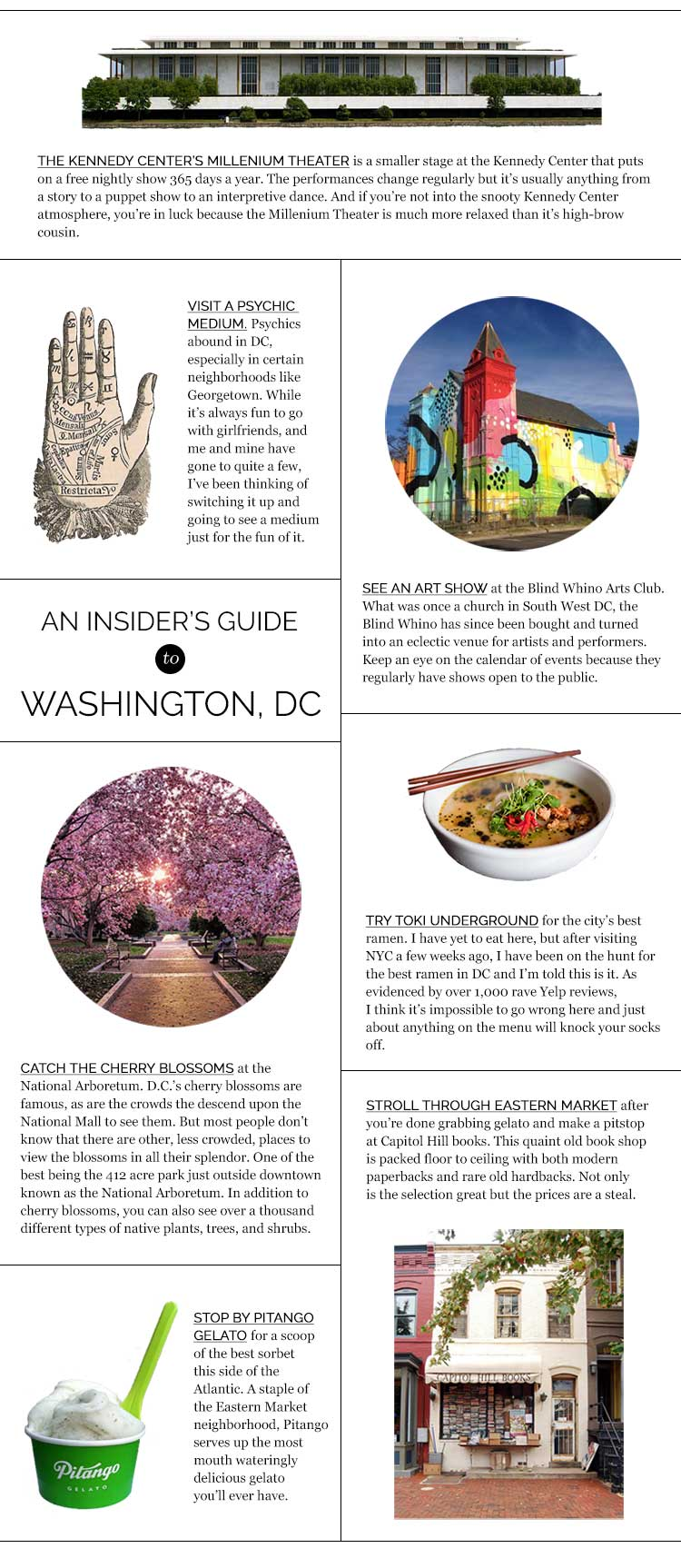 An Insiders Guide to DC