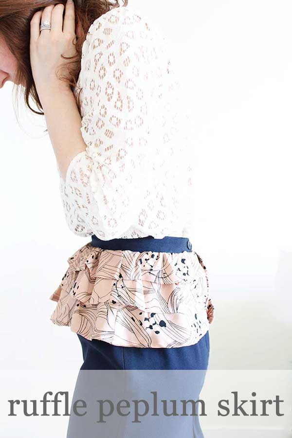 Pretty Peplum Skirt