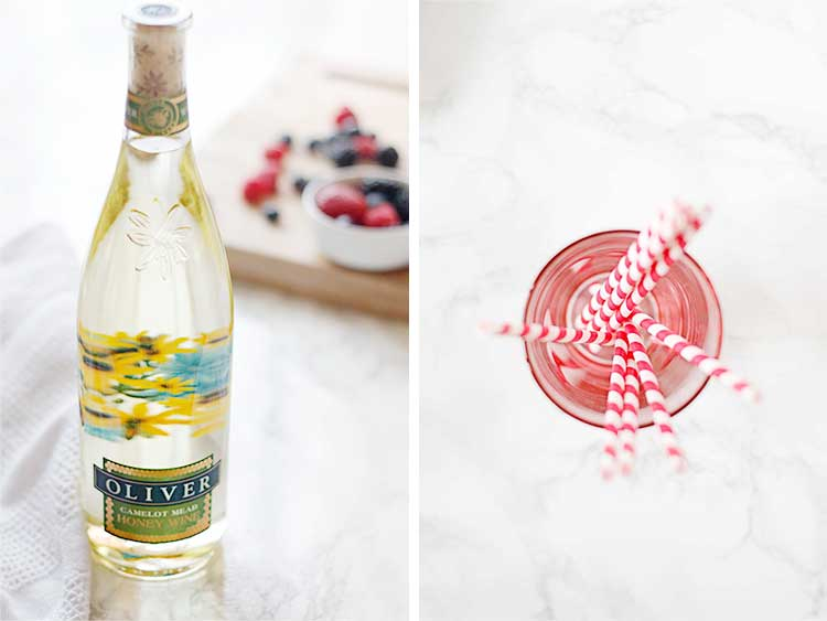 This berry sangria recipe is perfect for those warm summer nights.