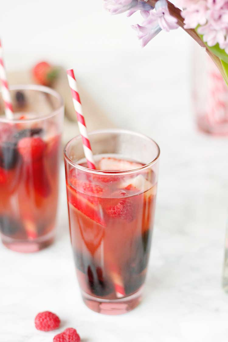Summer Berry Sangria Recipe
