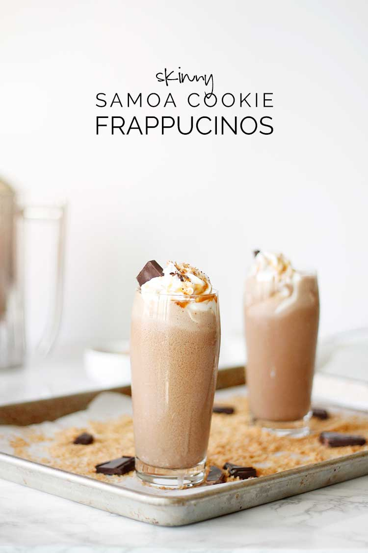 Skinny Samoa Cookie Frappucino Recipe