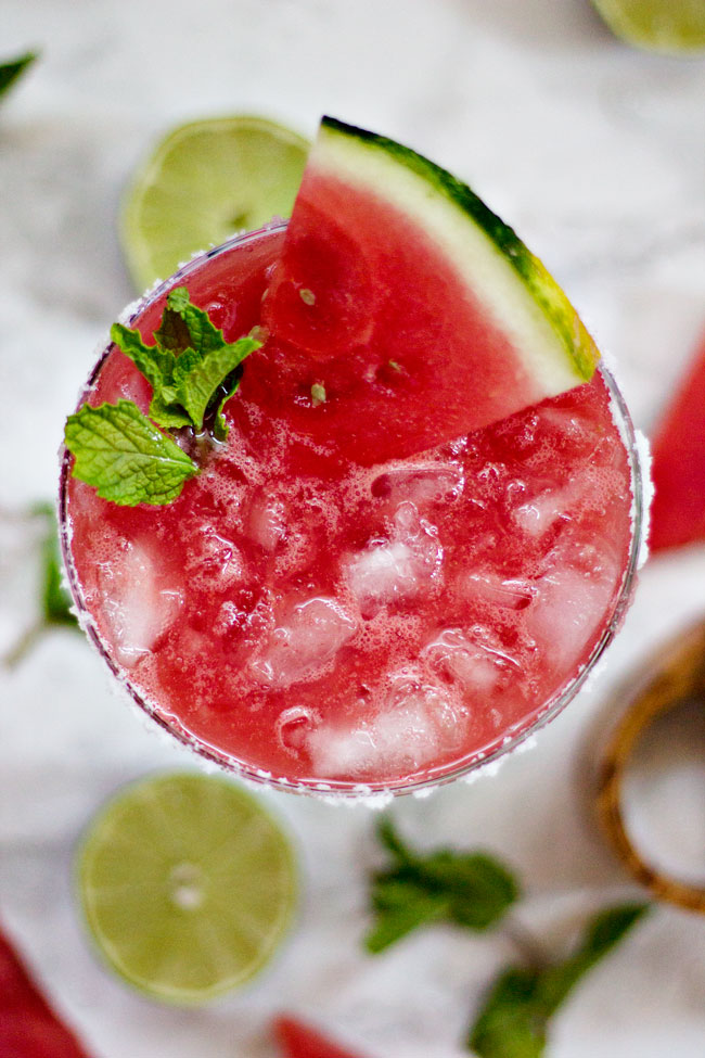 Watermelon Agua Fresca Cocktail