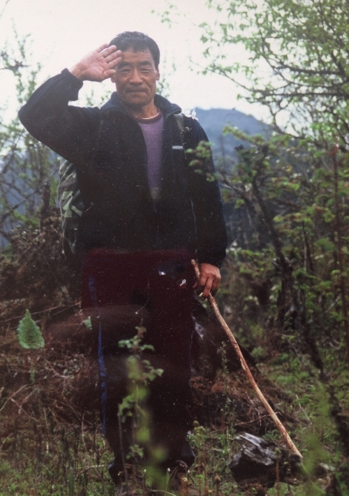 Ap Phuntsho, the trekking chef in Haa.