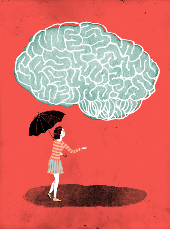 L'histoire d'une femme qui a apprivoisé son trouble obsessif compulsif. /  How a woman learned to live with her Obsessive Compulsive Disorder.   Client : Globe and Mail