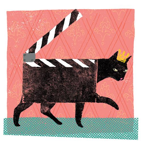 La popularité des films de chat sur le web / The buzz over cat movies on the internet   Client : Magazine L'actualité