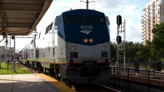 Amtrak station west palm beach