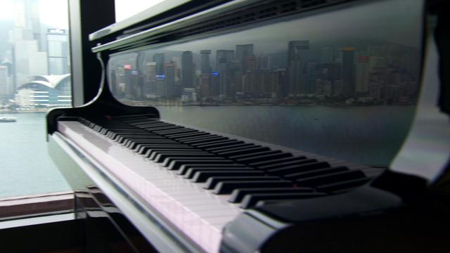 Presidential grand piano
