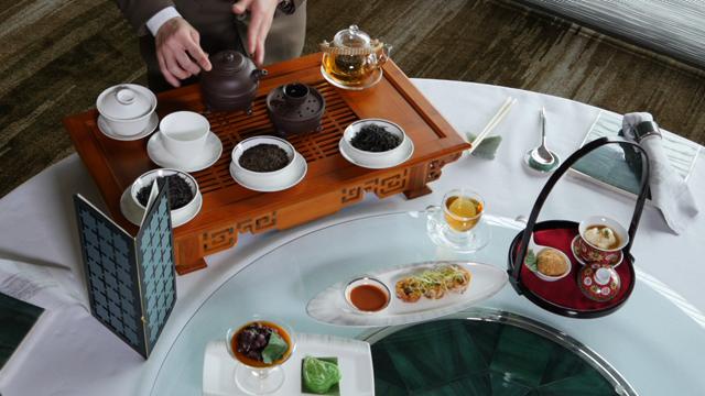 tea arrangements