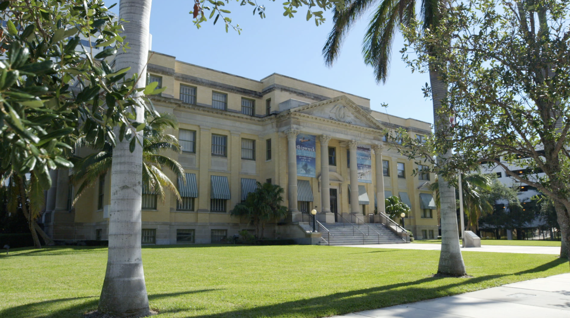old palm beach county courthouse