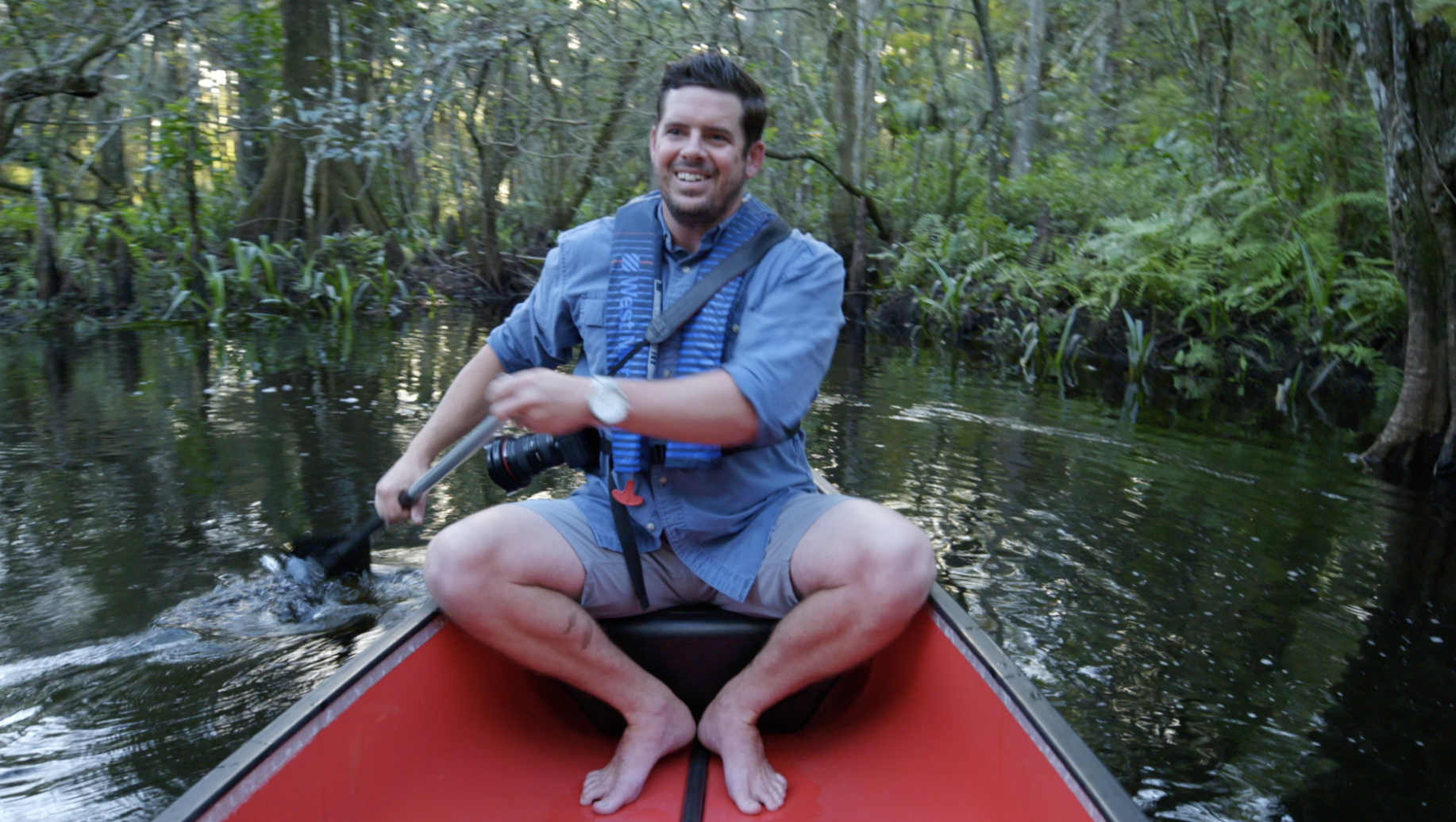canoeing the loxahatchee