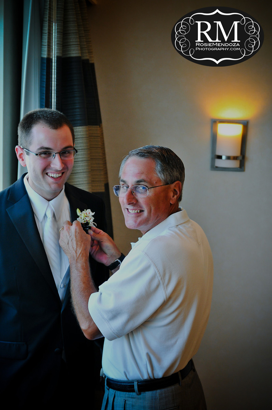 Eden-Roc-Miami-Beach-Wedding-groom-preparation-photo