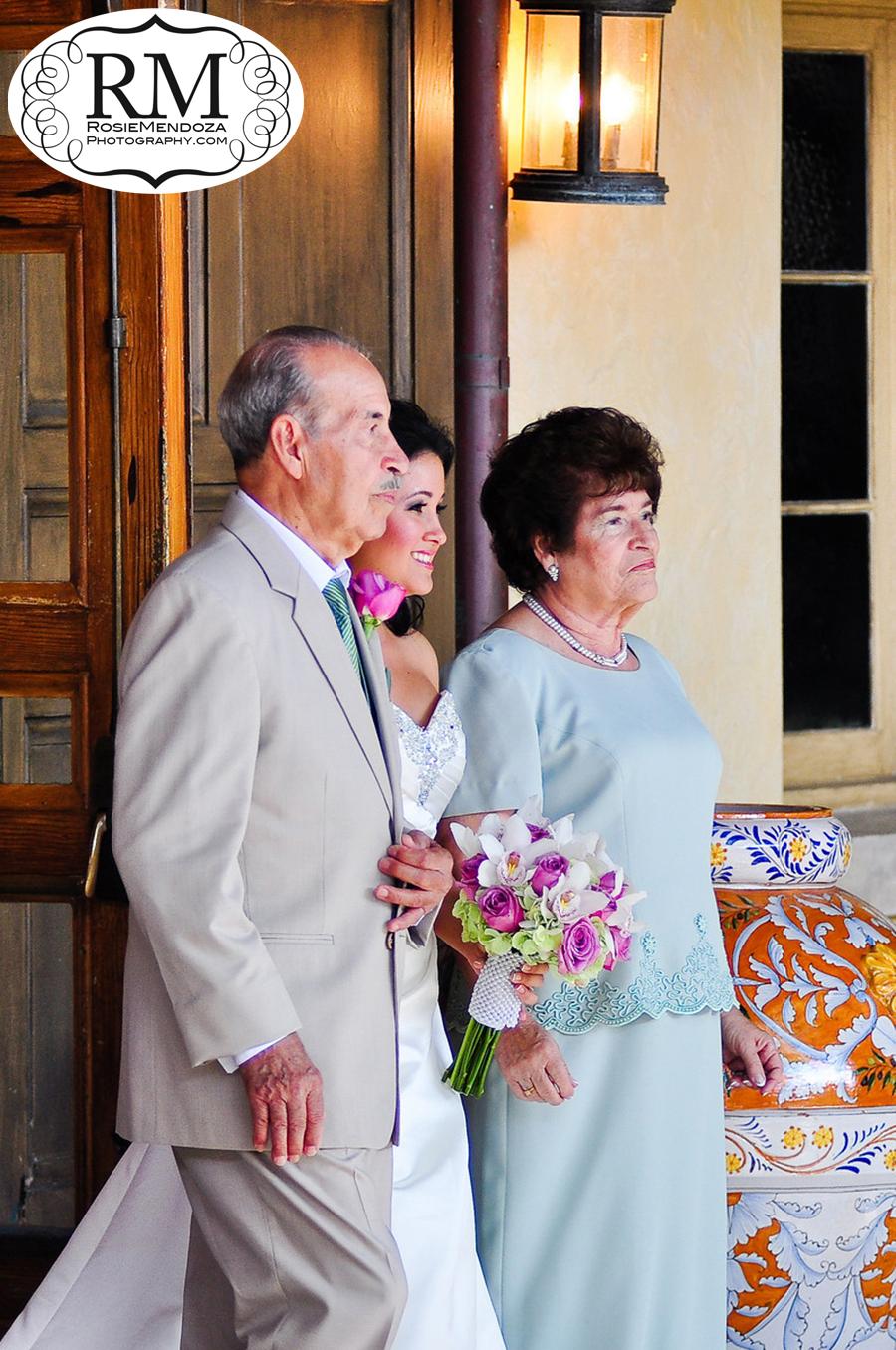 Boca-Raton-The-Addison-wedding-bride-walking-down-the-isle-photo