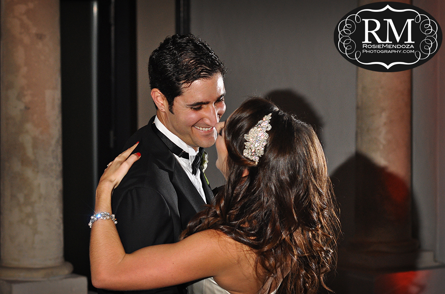 First dance of many to come...