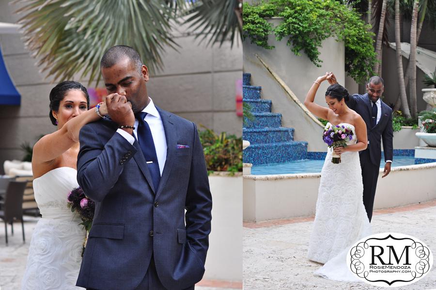 Ritz-Carlton-Coconut-Grove-wedding-first-look-photo