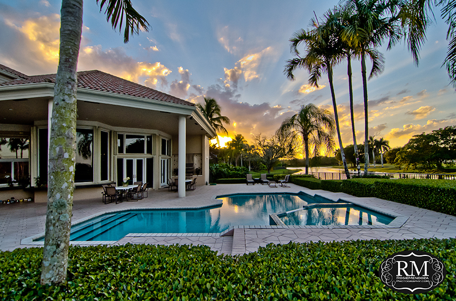 west-palm-beach-luxury-real-estate-photography-sunset-photo