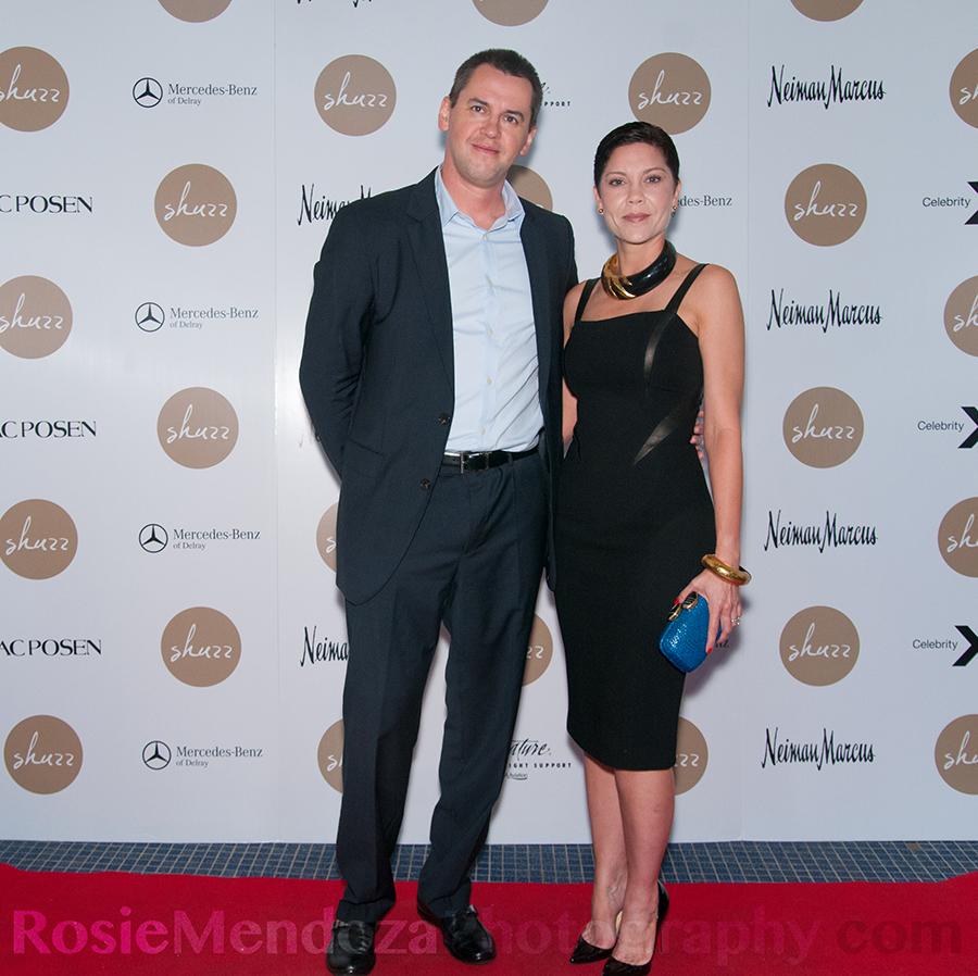 Guest Vlad Darevskiy and Shuzz Committee Member Sara Maynoldi