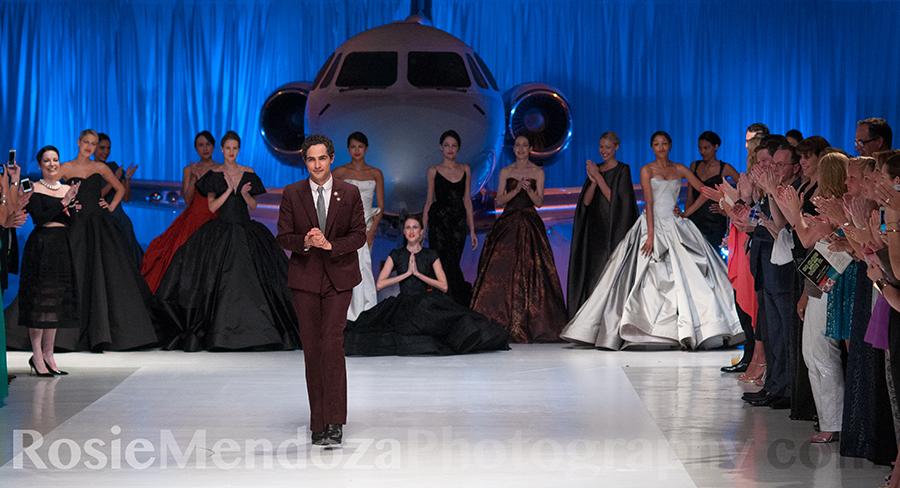 Standing ovation for Fashion Designer Zac Posen