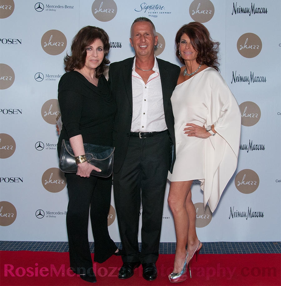 Guests Kim Moss, Peter Brisacone and Denise Memole