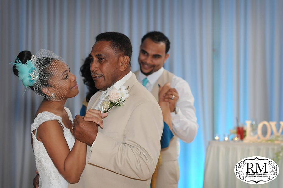 It never fails. Father of the bride getting all emotional during dances