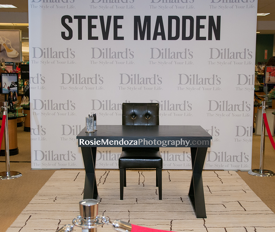 Meet and Greet Steve Madden at Dillard's in Pembroke Lakes Mall