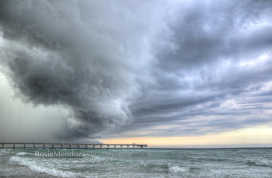 south-florida-storm-beach-pier-photo