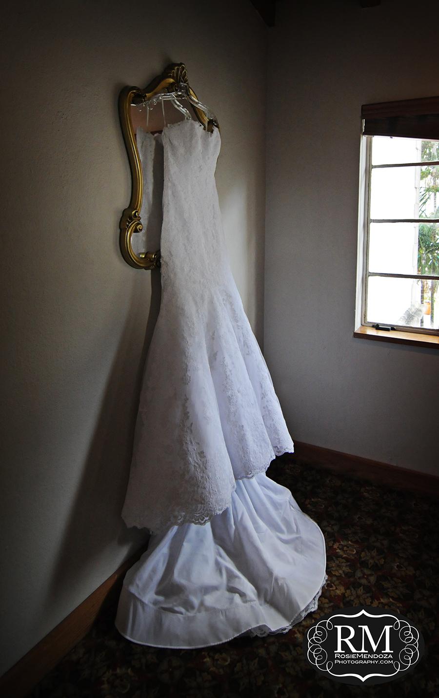 Wedding dress still