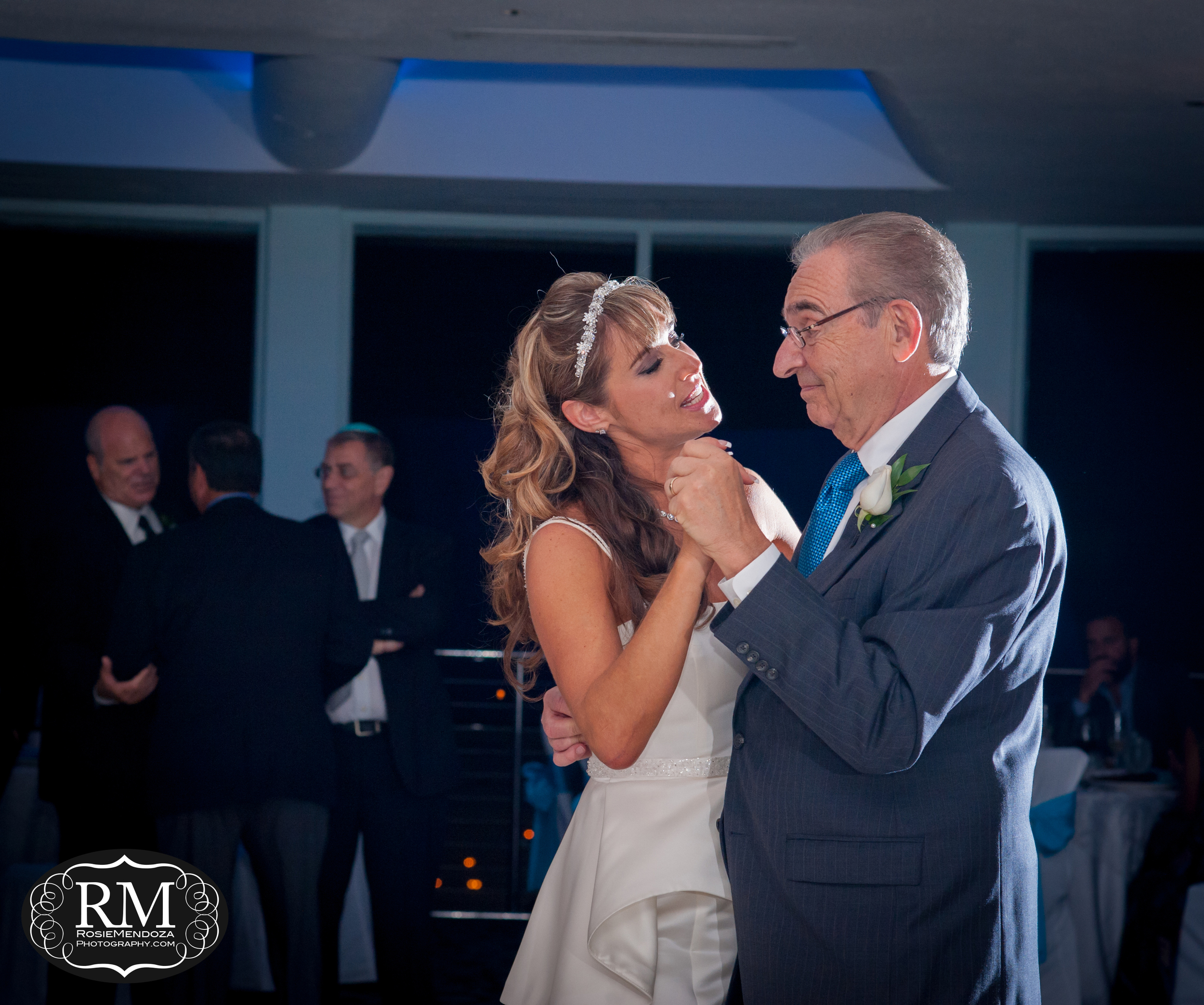 Father and daughter's dance.