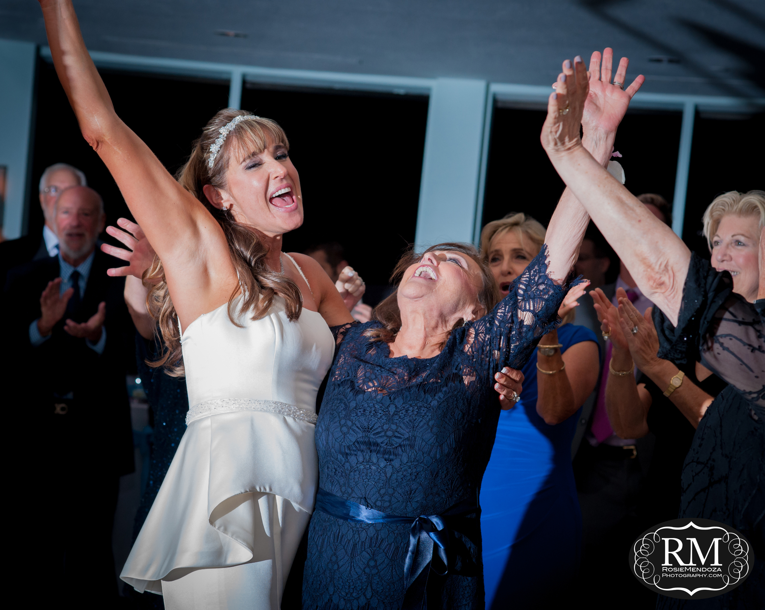 Bride dancing the night away with her mom...