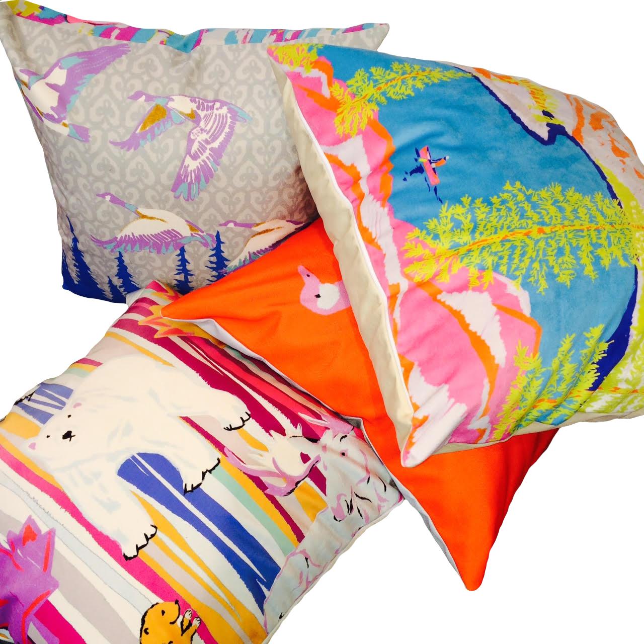 Canadiana Pillows
