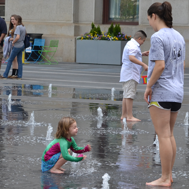 Philly water fun