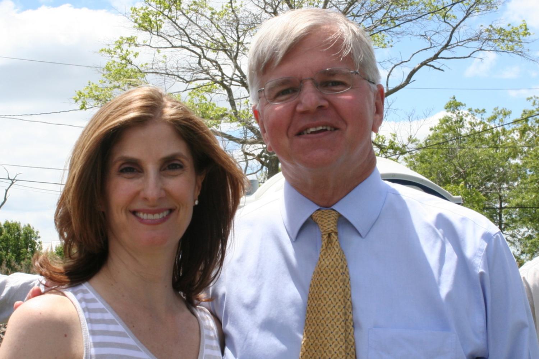 With Assemblyman Fred W. Thiele, Jr.