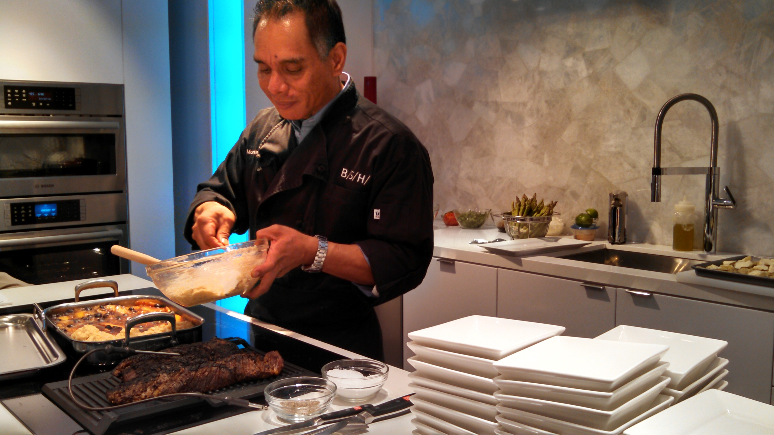 Bosch Induction Cooking Demo