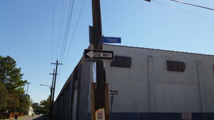 Flood Street in the Lower Ninth Ward