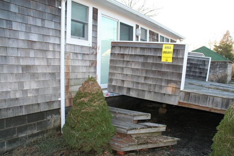 Sunset Green Home after Hurricane Sandy
