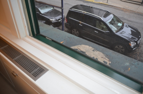 ...clean sill and window channels keeps the window operating smoothly.